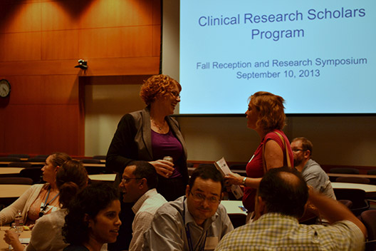 Clinical Research Scholars Honored at Reception