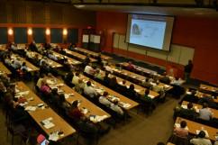 A plenary session presentation