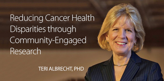 MCW Cancer Center Hosts Nationally Renowned Cancer Disparities Researcher