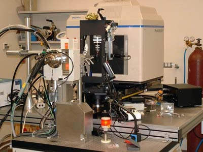 X-ray diffraction laboratory at MCW