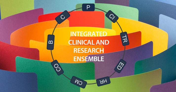 Team Science-Guided Integrated Clinical & Research Ensembles: a New Approach