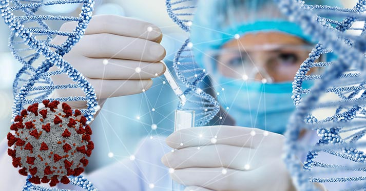 """<i class=""""far fa-dna""""></i> COVID-19 Related Research Services Provided by CTSI & the MCW GSPMC"""