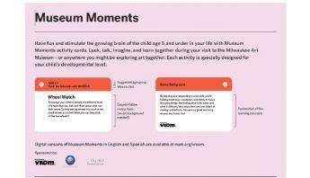 Milwaukee Art Museum – Museum Moments